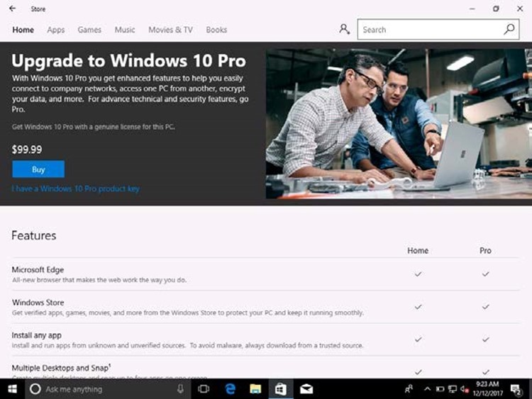 Windows 10 upgrade benefits for customers with subscriptions in CSP
