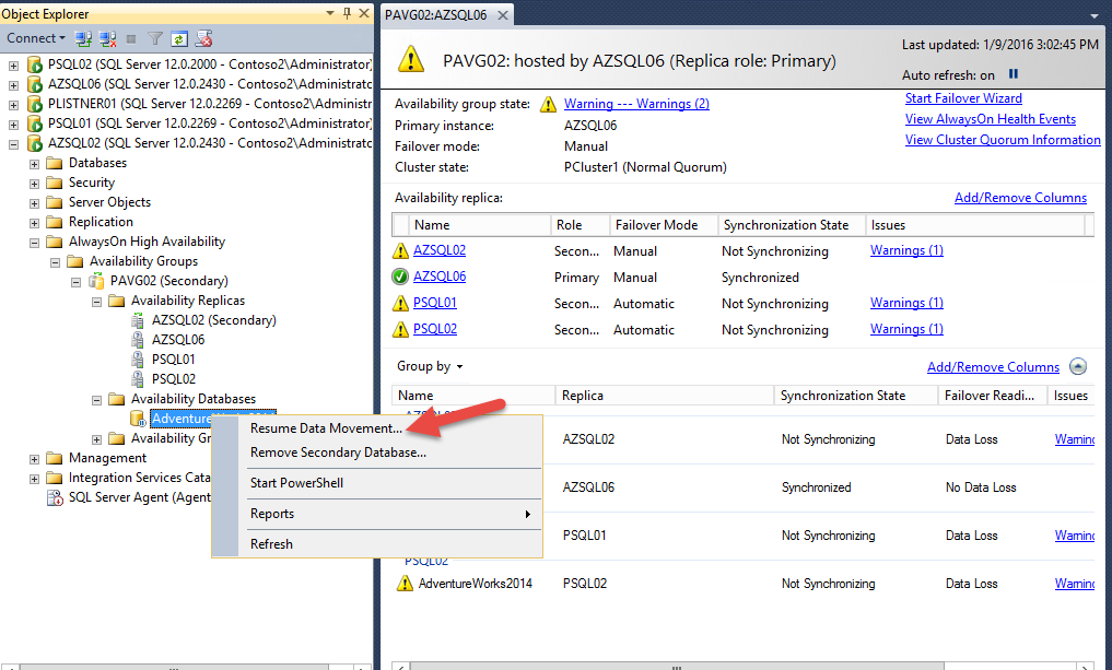 Sql Server 2014 Disaster Recovery Lab