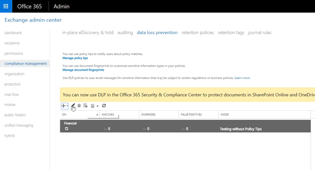 Organizational Security & Compliance in Office 365