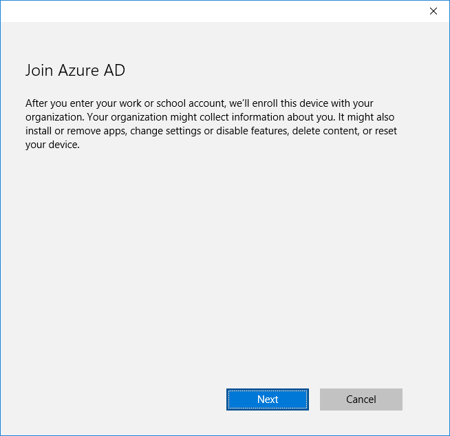 Azure AD & Windows 10: Better Together for Work or School