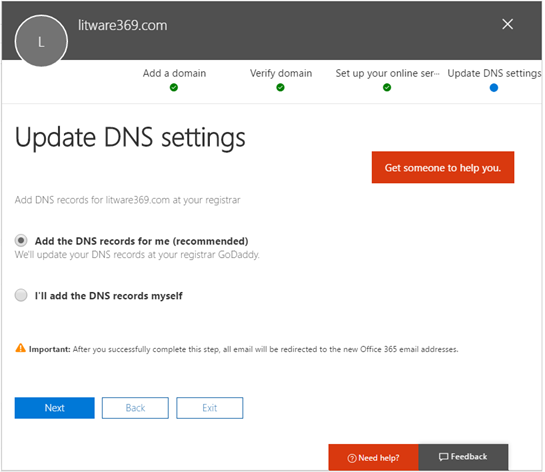 Azure AD/Office 365 seamless sign-in – Build a base
